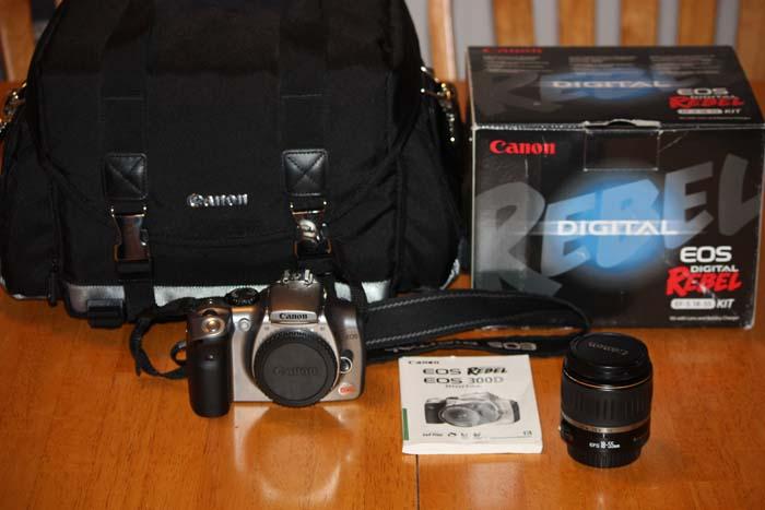 FS: Canon Rebel 300D DSLR Camera (Sold) 300d10