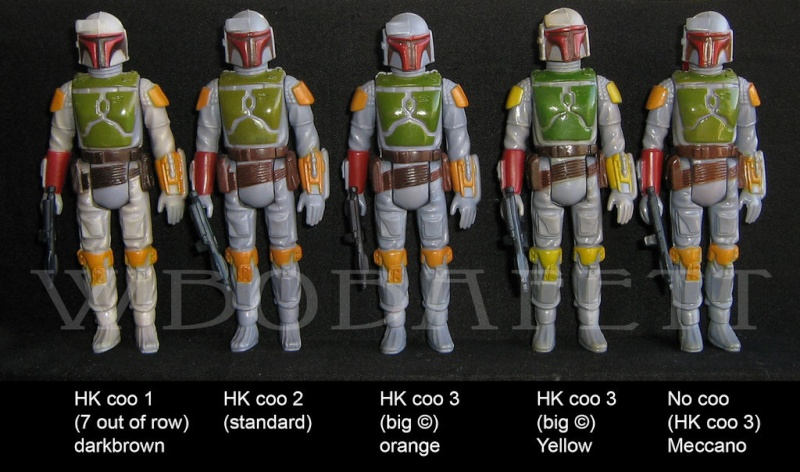 Boba Fett Loose variant – In depth discussion about discoloration and yellowing Bobafe12
