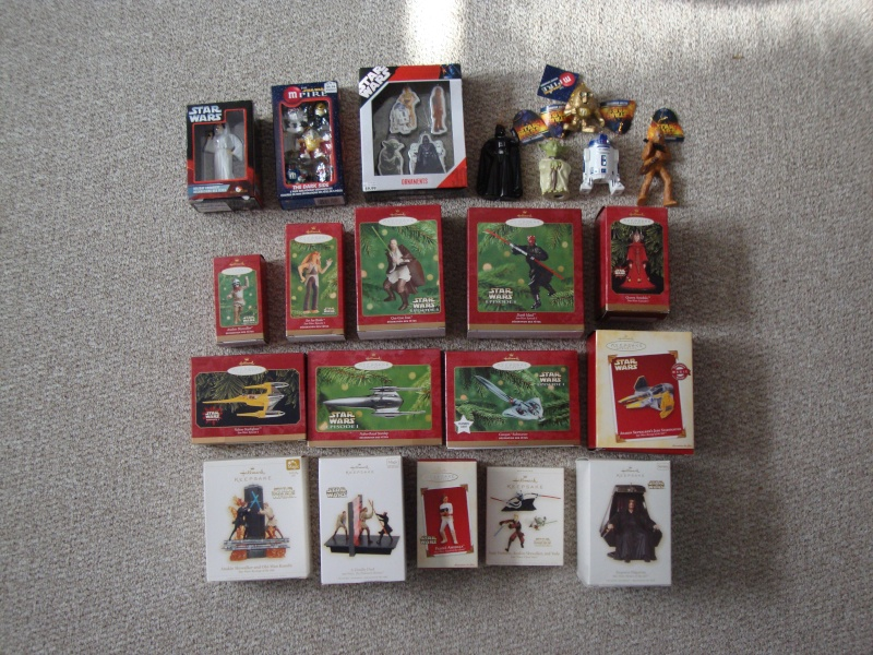 FS Star Wars Christmas Ornaments Lot  21 Total