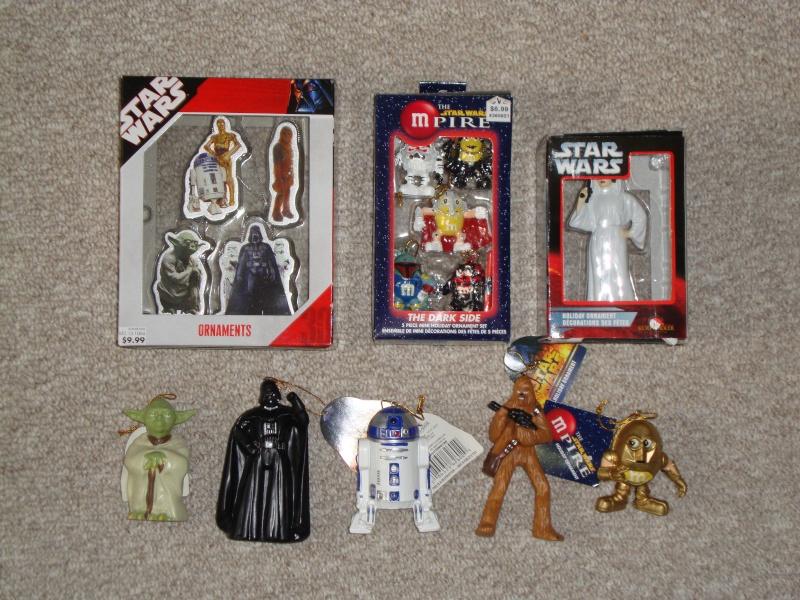 FS: Star Wars Christmas Ornaments  Lot - 22 Total - UPDATE 12/28 Dsc01312