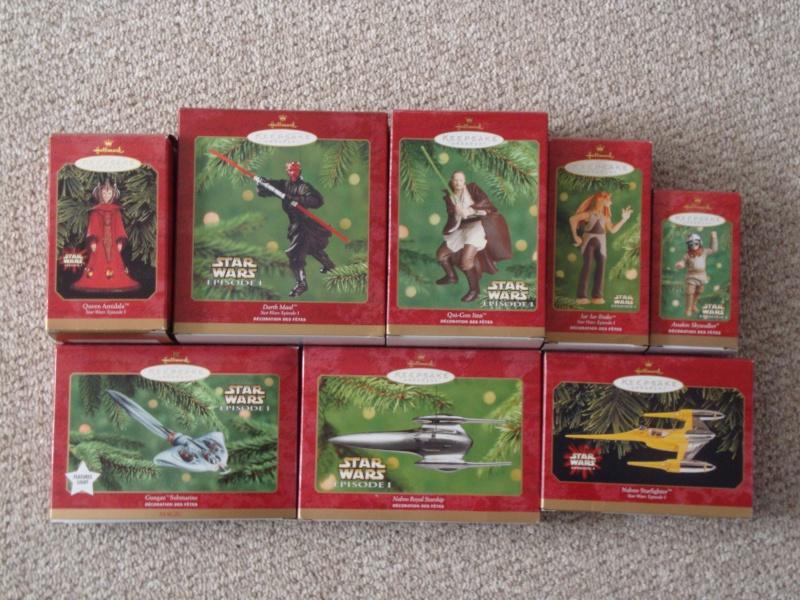 FS: Star Wars Christmas Ornaments  Lot - 22 Total - UPDATE 12/28 Dsc01313