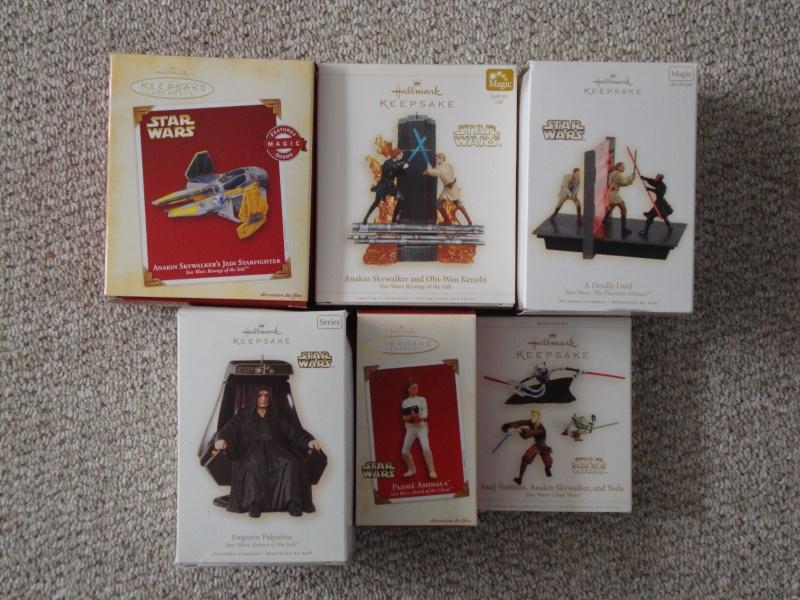 FS: Star Wars Christmas Ornaments  Lot - 22 Total - UPDATE 12/28 Dsc01314