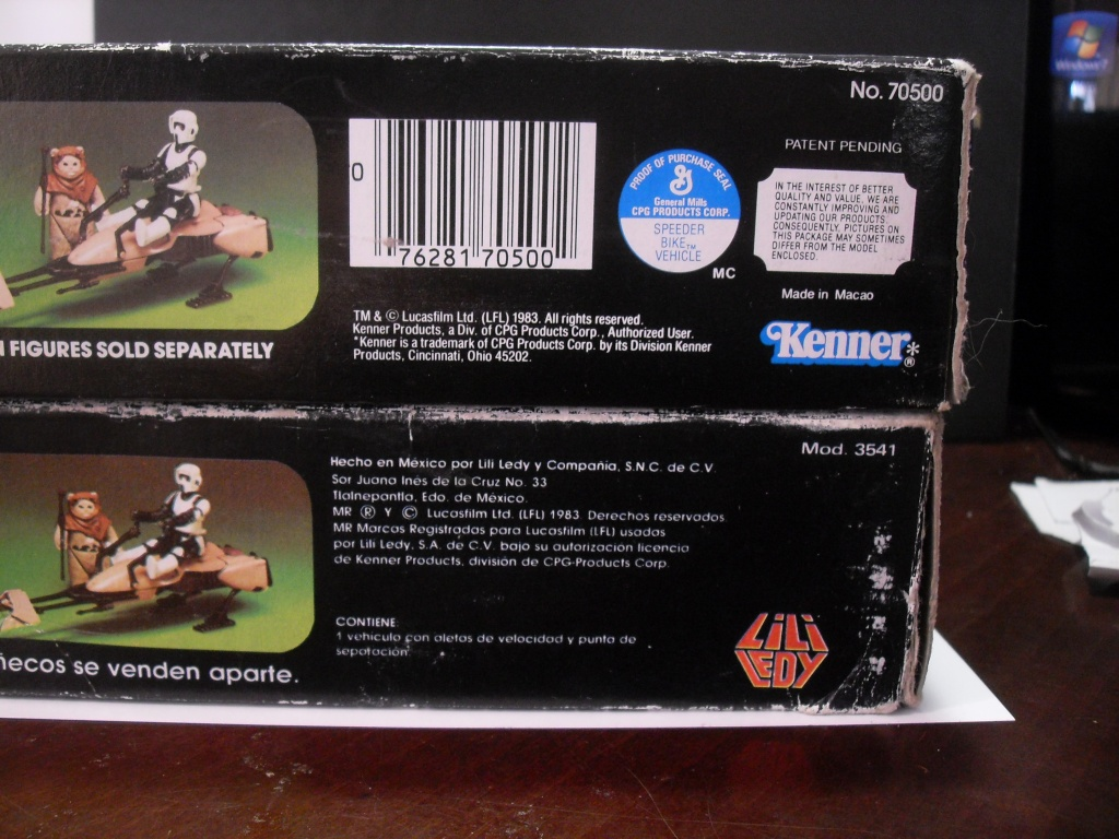 PROJECT OUTSIDE THE BOX - Star Wars Vehicles, Playsets, Mini Rigs & other boxed products  - Page 2 Sdc12323