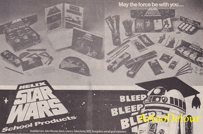 SW ADVERTISING FROM COMICS & MAGAZINES - Page 2 Star_w40