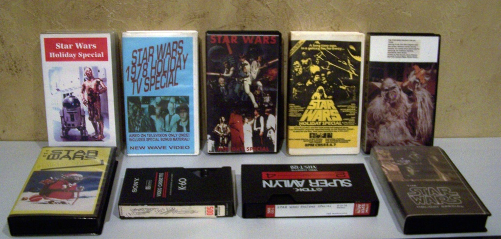 Star Wars Holiday Special Bootleg VHS focus Tapesf10