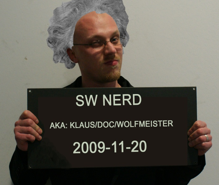 Should Wolff (The doc) put up a picture of himself? 00111
