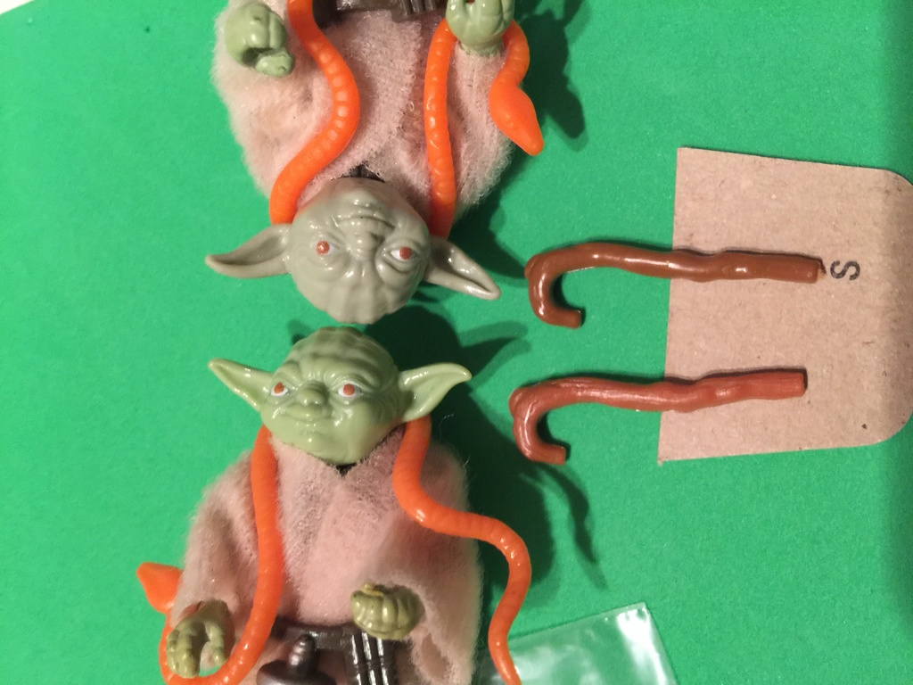 Making Sense out of Yoda's Cane Colors 713