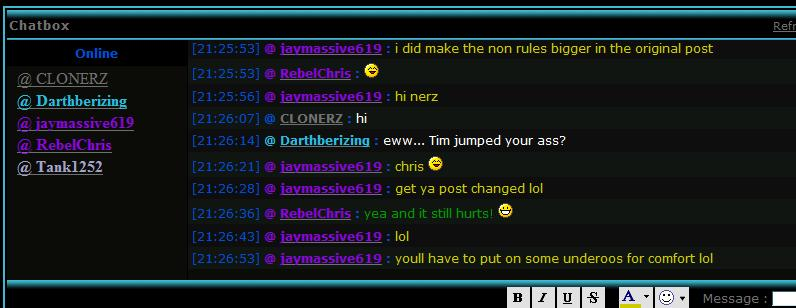 There are 101 good reasons to join the live chat - - Page 5 Chris_10