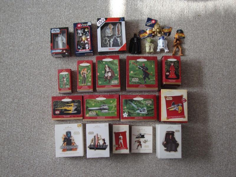 FS: Star Wars Christmas Ornaments  Lot - 22 Total - UPDATE 12/28 Dsc01310