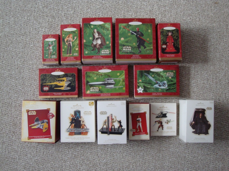 FS: Star Wars Christmas Ornaments  Lot - 22 Total - UPDATE 12/28 Dsc01311