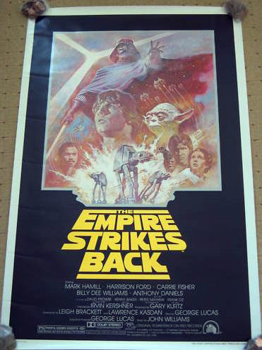 Does anybody collect or own any Original Vintage Star Wars One Sheets / Quads (Movie Posters) ? Esb_on11