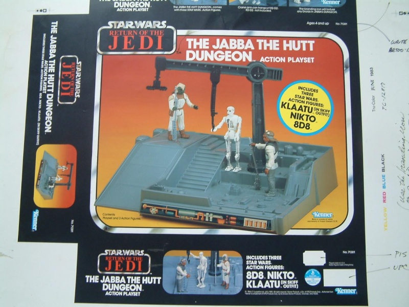 A look into Cromalins : Jabbas Dungeon playset Fronta10