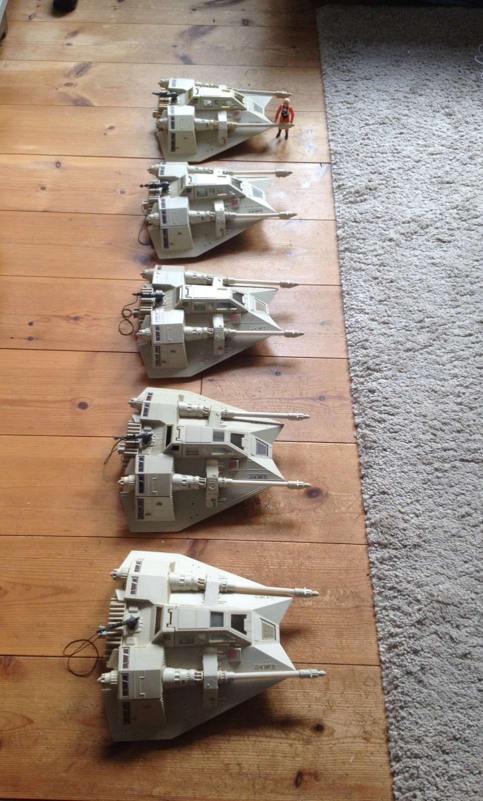 My first SW Project. 5 snowspeeders and 1 B Wing fully restored Fullsi13