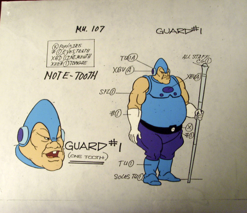 Animation cells - Page 3 Guard10