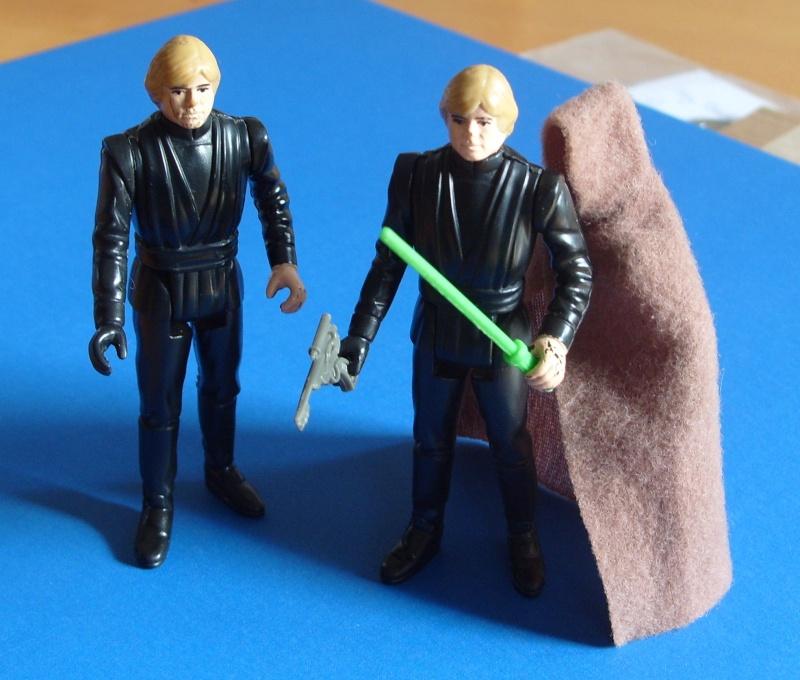 Weird Jedi Luke cape, weapons Hombre10