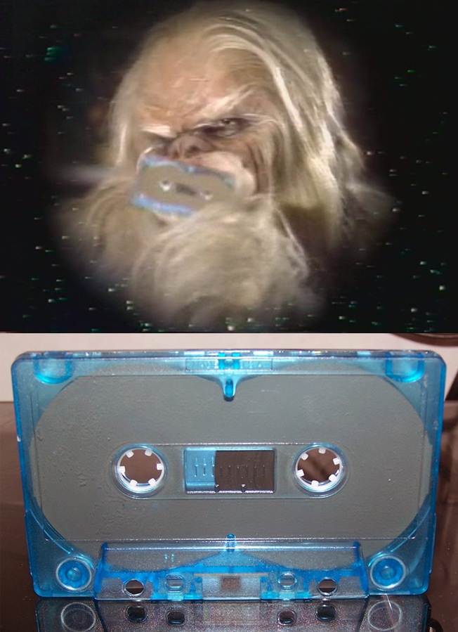 Star Wars Holiday Special Bootleg VHS focus Hstape10