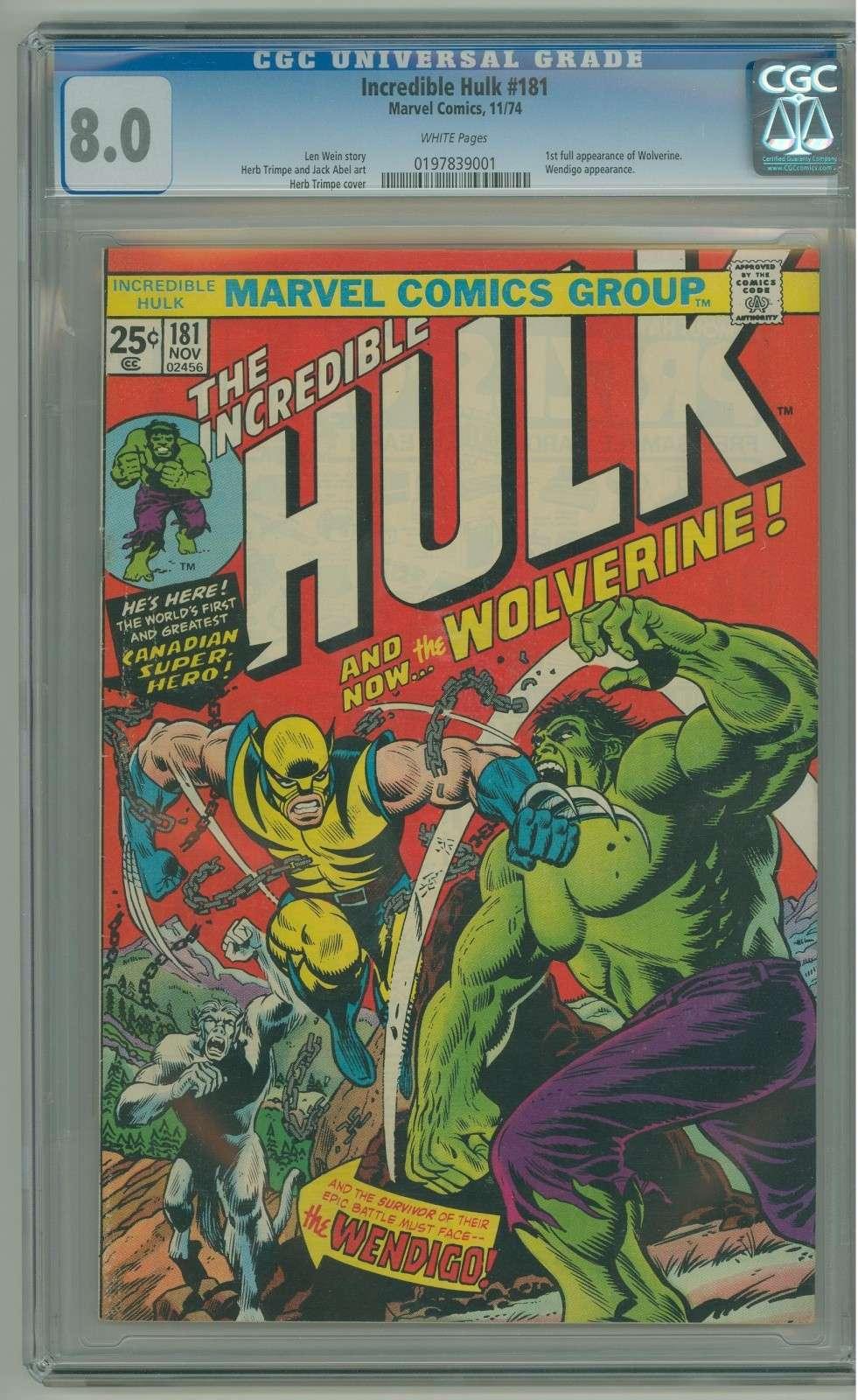 Holy Grail of Wolverine Comics Hulk_110