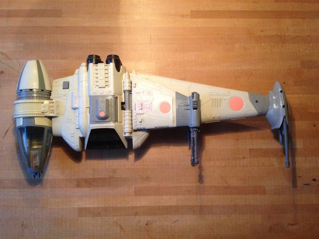 My first SW Project. 5 snowspeeders and 1 B Wing fully restored Img_2414