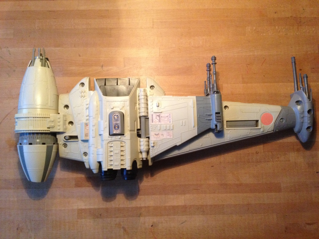 My first SW Project. 5 snowspeeders and 1 B Wing fully restored Img_2415