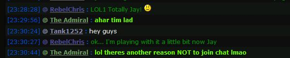 There are 101 good reasons to join the live chat - Lol_ch10