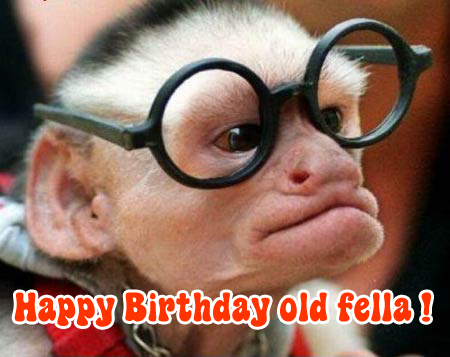 Happy birthday Rob (The Admiral)! Monkey10