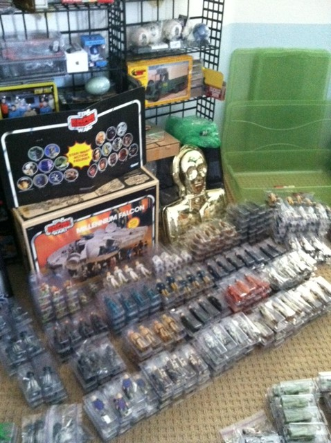 Current set up and still working...Counter Display, 12 backs, and other collectibles Photo111