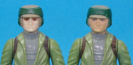 How many ROTJ Figures originally came with Moulded heads? Rc_com10