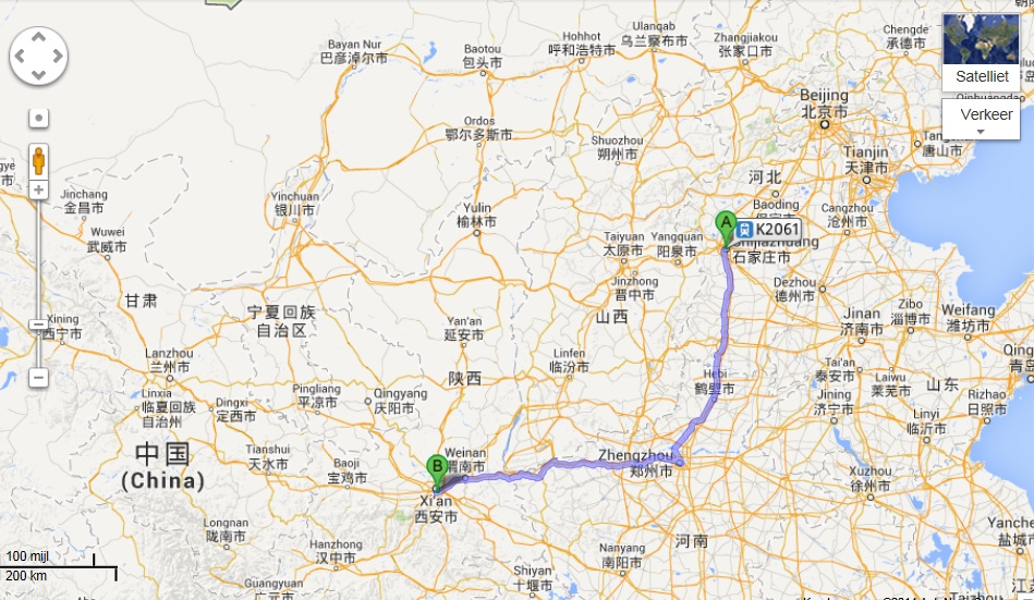 Star Wars in China: Episode II Route_10