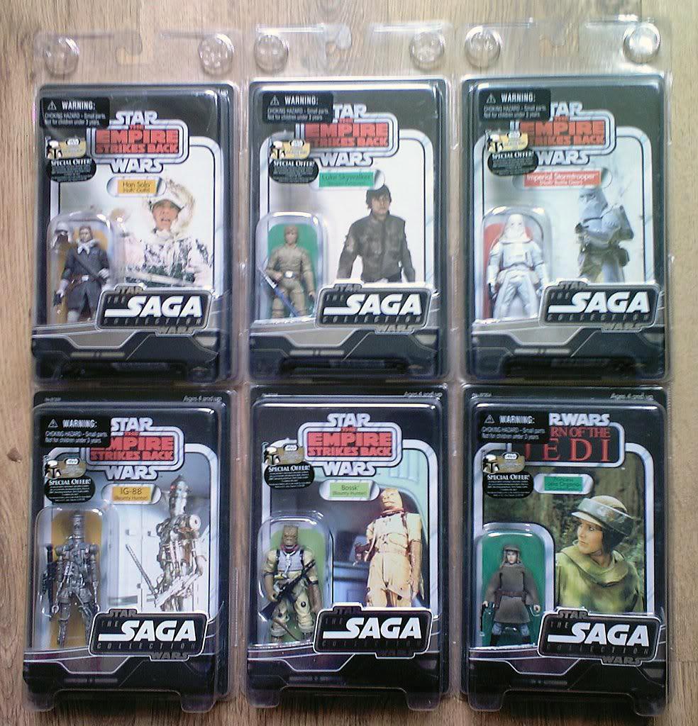 FS: All 12 MOC's form the VSTC Vintage Saga Trilogy Collection 2005/06 inc Lucas Stormie Vstc_610