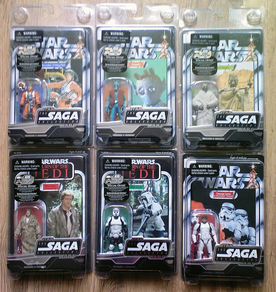 FS: All 12 MOC's form the VSTC Vintage Saga Trilogy Collection 2005/06 inc Lucas Stormie Vstc_611