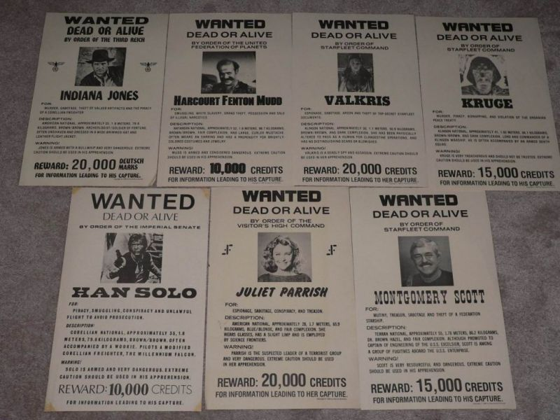 Poster from (ahem) 1977 Wanted11